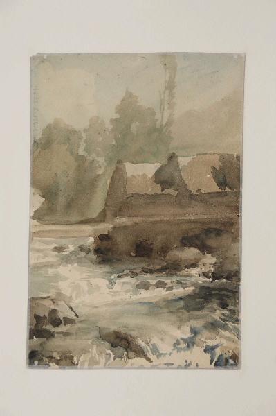 Chaussée sur la rivière (au verso de collines boisées, inv.28-1-154-1)_0