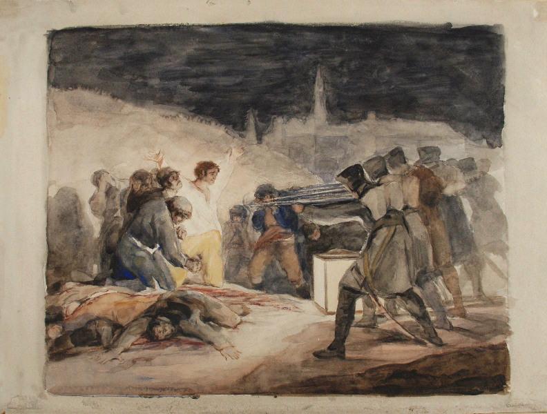 Le 3 mai 1808 (d'après Goya)_0