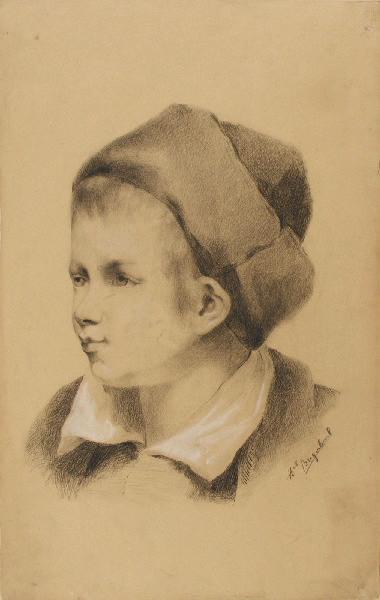 BRIGUIBOUL Marcel : Enfant au bonnet
