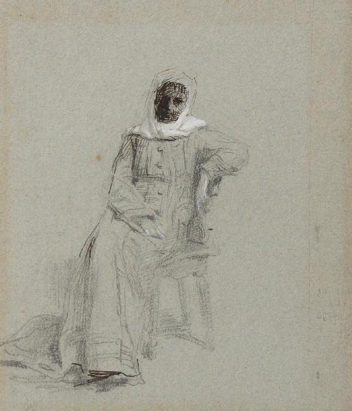 Arabe assis et accoudé_0