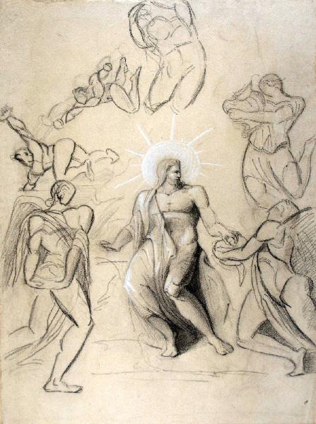 Dieu entouré d'anges_0