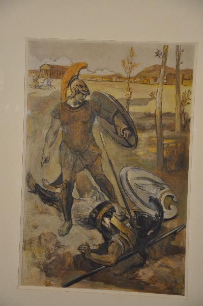 GONTIER Clément : Mort d'Hector