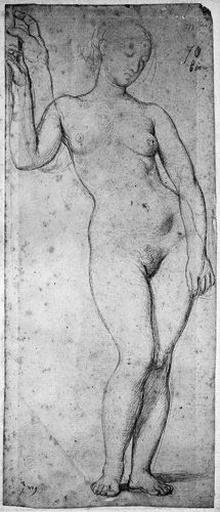 Stratonice nue (avec variante pour le bras droit)