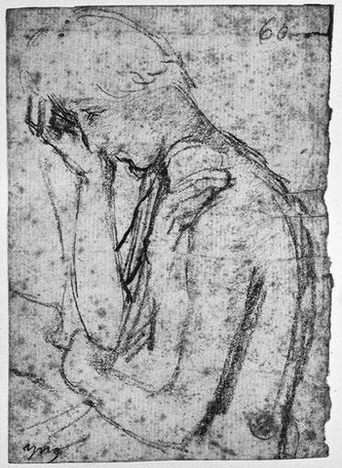 Seleucos (?) de profil à gauche, pleurant, avec le bras d'Antiochos_0