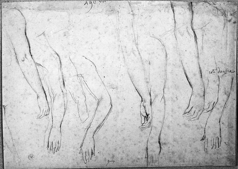Antiochos (Huit études de bras pendants)_0