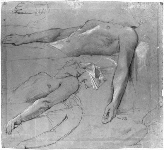 Antiochos (Deux études de son buste)_0
