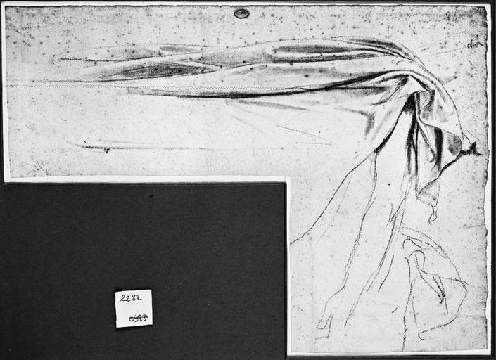 Couverture du lit d'Antiochos (Avec son bras pendant)_0