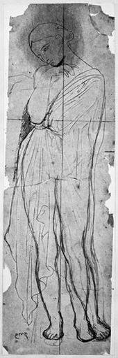 Stratonice (Nue, avec manteau ajouté et variante pour la jambe gauche.)