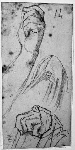 Antiochos (Deux mains gauches fermées, l'une en partie cachée sous une draperie.)_0