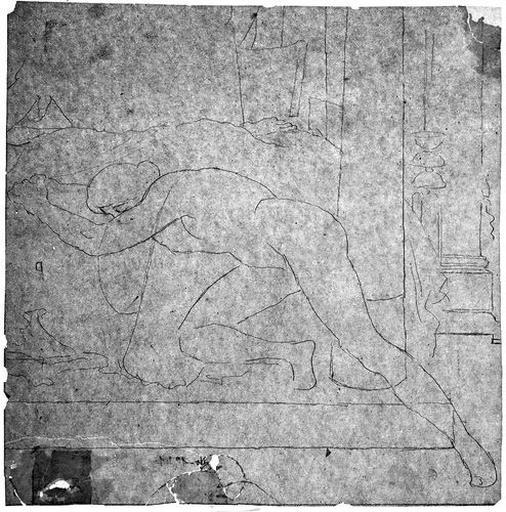 Seleucos (Nu, prostré sur le lit )_0