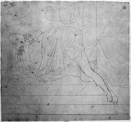 Seleucos (Prostré sur le lit, en partie vêtu )