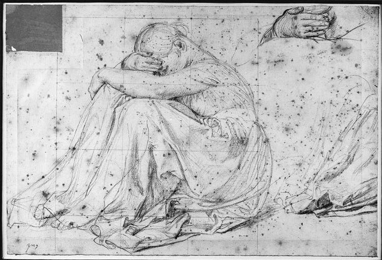 Nourrice d'Antiochos (Avec reprise de la main droite et d'un morceau de draperie)
