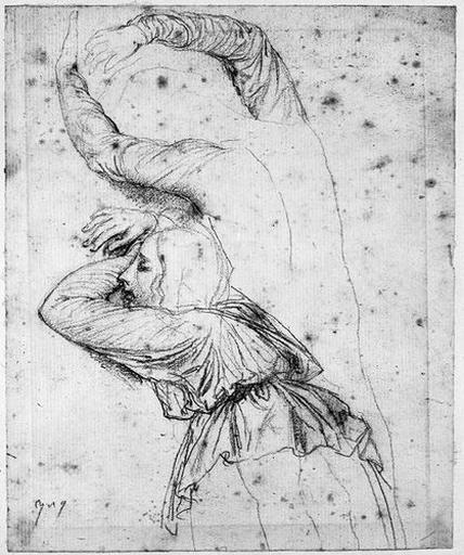 Familier d'Antiochos (De dos, pleurant contre une colonne, et variante des deux bras)_0