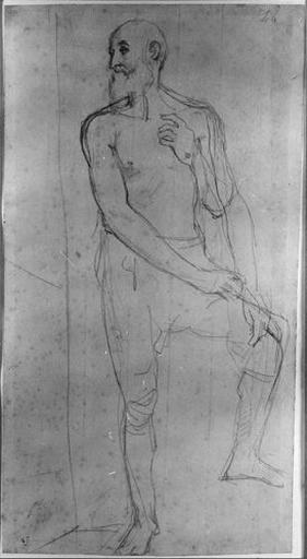 Erasistrate (Nu, avec variante du bras gauche)_0