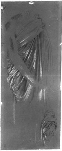 Erasistrate (Son manteau, le bras gauche est dessiné au-dessous)_0