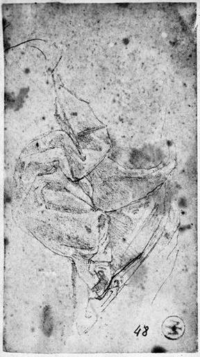 Auguste (La partie de la tunique qui couvre ses jambes)
