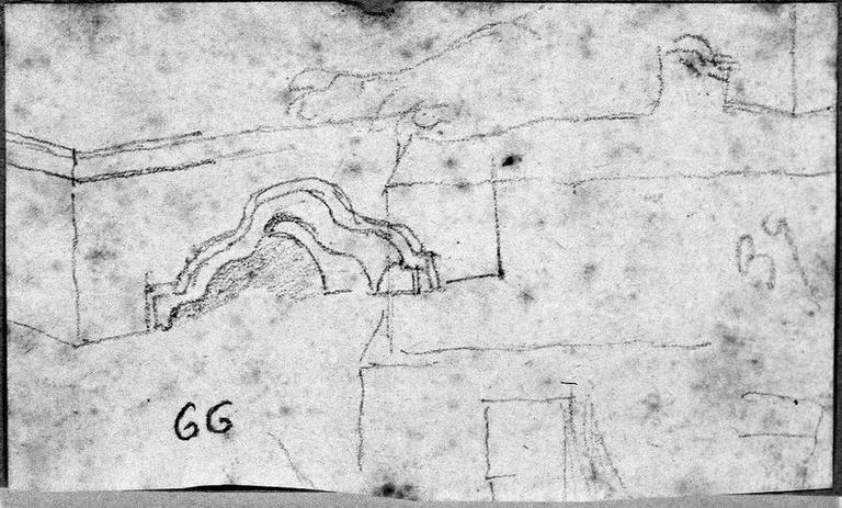 Marchepied antique ; Verso : Virgile, sa chevelure, sommaire, sans laurier_0