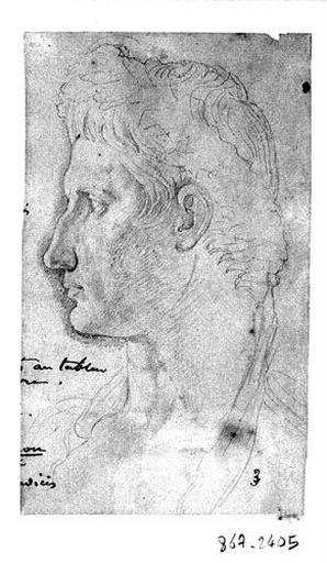 Auguste (Sa tête, d'après l'antique)