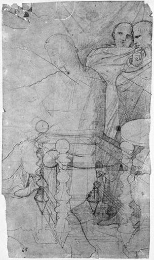Auguste, Mécène et Agrippa (Et silhouette de mobilier)_0