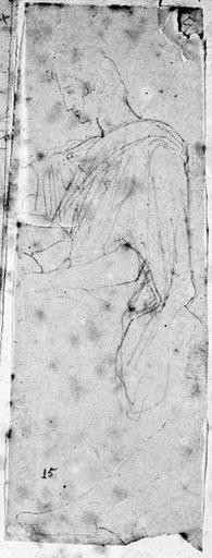 Auguste (Assis, à mi-corps, avec étude de la jambe gauche à part)_0