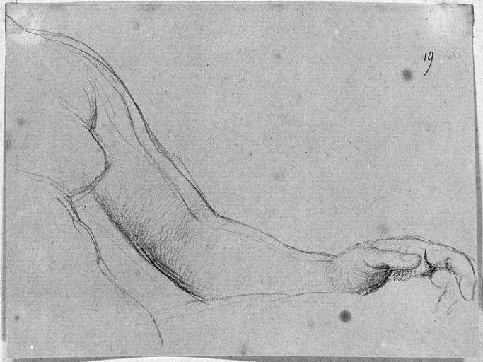 Livie (Ses bras et sein gauches, nus)_0