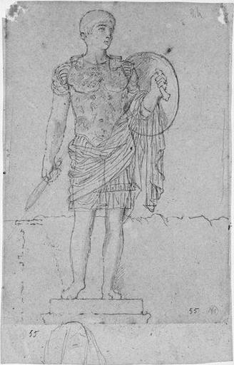 Statue de Marcellus cuirassé (et tête de Livie.)_0