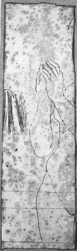 Vierge en prière (Les mains jointes éloignées du corps)_0