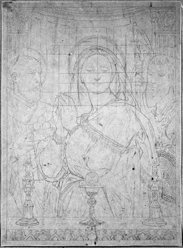 Vierge à l'hostie (Ensemble de la composition)_0
