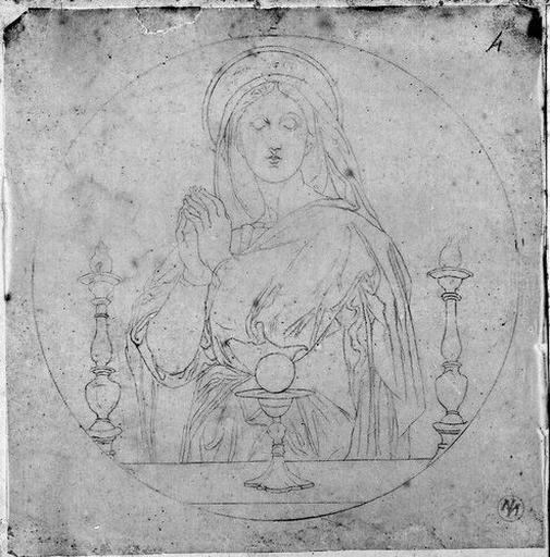 La Vierge (Composition ronde)_0