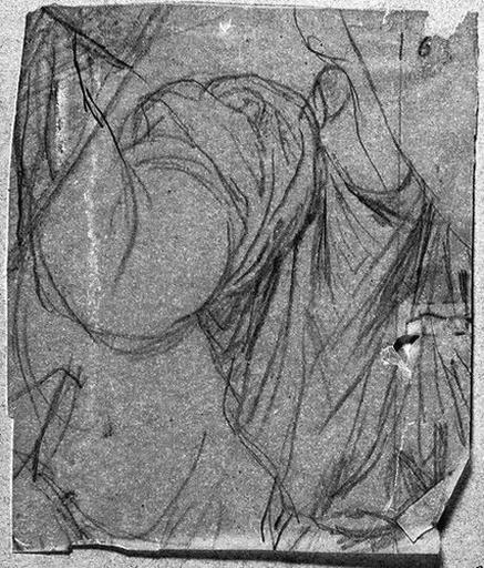 Ange adorateur (celui de droite, son buste et son bras droit)_0