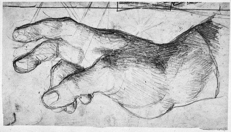 La Vierge (sa main droite)_0