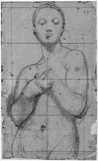 La Vierge (nue, à mi-corps, les mains sur la poitrine)_0