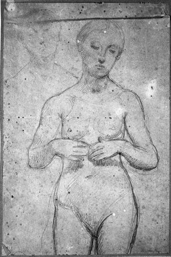 La Vierge (Nue, à mi-jambes, avec un autre personnage derrière)_0