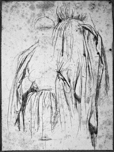 La Vierge hiératique (Vêtue, avec reprise de sa robe)_0