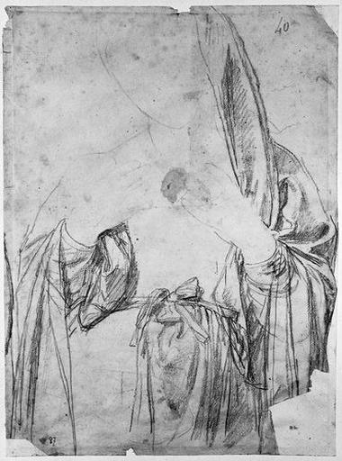 La Vierge (Sa tunique et son manteau)