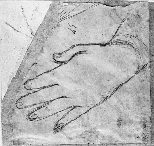 La Vierge (Sa main gauche)_0
