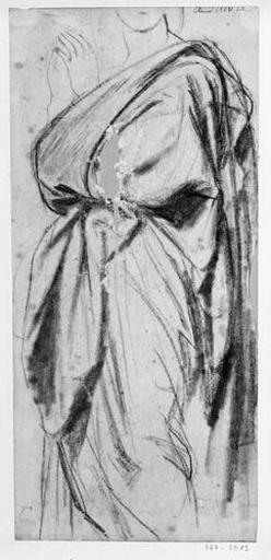La Vierge (Sa draperie)_0