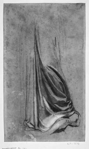 La Vierge (Bas de sa draperie)_0