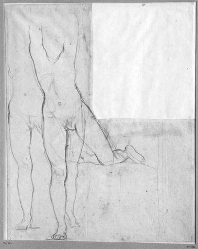 Anges de gauche (Deux études de son corps nu)_0