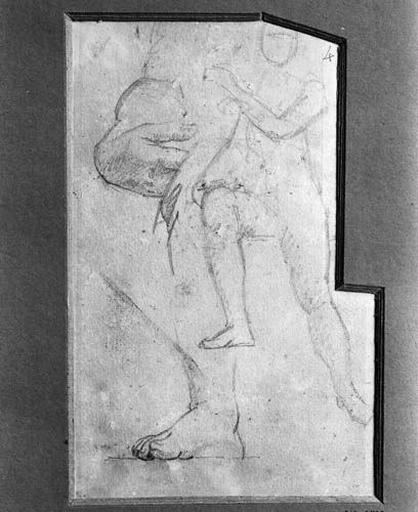 La Vierge (Sa pose, sa main droite, son pied droit)