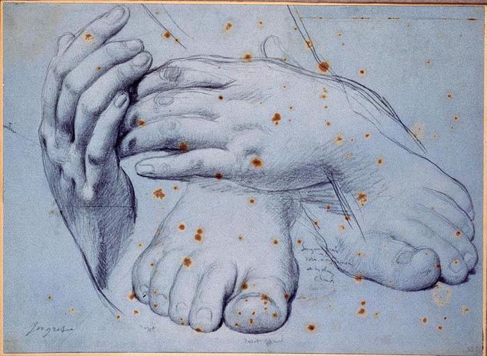 La Vierge (mains et pieds)_0