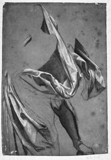 La Vierge (Sa draperie, sa jambe nue)_0