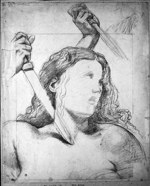 Buste de Jeanne d'Arc en extase_0