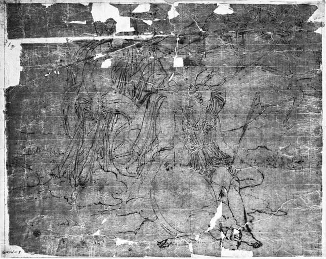 Vénus blessée par Diomède (Ensemble de la composition)_0