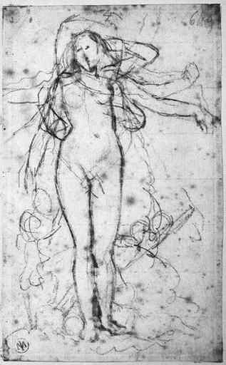 Vénus (avec variantes des deux bras, dont les bonnes positions) et deux Amours (avec miroir et arc)_0