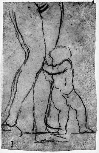 Vénus (Ses jambes, contre lesquelles s'appuie l'amour au dauphin)_0