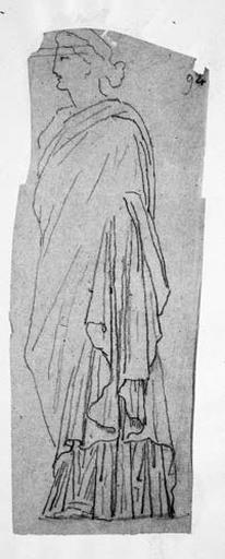 Femme drapée (Tournée vers la gauche)_0