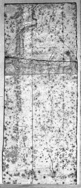 Henri IV (Nu, regardant vers le haut, la main gauche sur la hanche). Verso : Deux mains déchirant une lettre_0