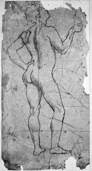 Henri IV (nu, la main sur la hanche) ; (Bain turc). La musicienne de dos (sa cuisse)_0