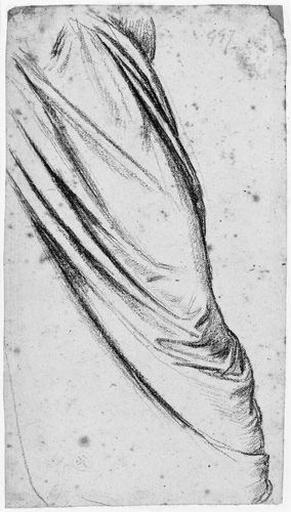 Romulus (Draperie recouvrant sa jambe gauche)